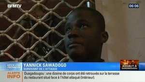 أحد الناجين من هجوم بوركينا فاسو: الدماء كانت في كل مكان والمسلحون أطلقوا النيران من مسافات قريبة