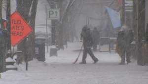 """""""عاصفة ثلجية تاريخية"""" في أمريكا تهدد أكثر من 85 مليون شخص"""