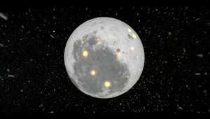 شاهد.. كيف تشكل القمر قبل مليارات السنين؟