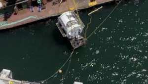 بالفيديو: شركة مايكروسوفت تغرق مركز بيانات إلى قاع المحيط