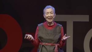 يابانية بعمر 81 تطلق تطبيقاً لهاتف