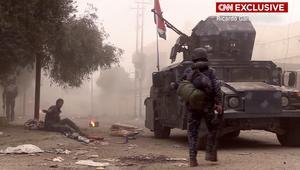 شاهد.. لقطات تظهر الرعب داخل مدينة الموصل