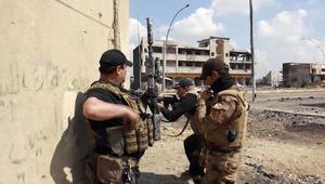 شاهد.. الجيش العراقي على مشارف البلدة القديمة