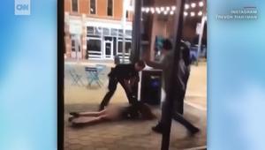جدل يدفع شرطيا بأمريكا لإسقاط فتاة بعنف على الأرض