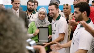 أسطورة برشلونة تشافي يكشف عن لاعبيه المفضلين