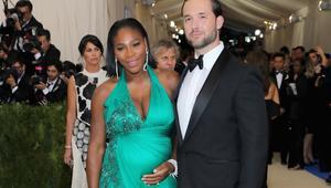 سيرينا وليامز تنجب طفلها الأول