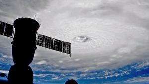 شاهد شكل إعصار إرما من محطة الفضاء الدولية