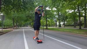 """""""سبايك بوردينغ"""".. رياضة جديدة قد تساعد بالحفاظ على لياقتك حتى مع تقدم السن"""