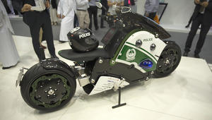 أي مركز شرطة في الشرق الأوسط يملك درّاجة