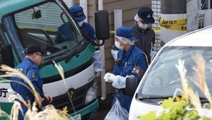 شاهد.. شرطة اليابان تعثر على أجزاء بشرية مخبأة بشقة شاب
