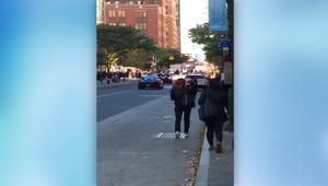 المشاهد الأولية بعد أنباء إطلاق نار في نيويورك