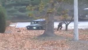 شاهد.. كاميرات توثّق محاولة انشقاق جندي من كوريا الشمالية