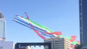 """شاهد.. احتفالات """"العيد الوطني"""" بمدينة دبي للإعلام"""