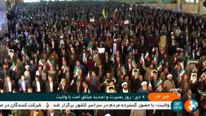 مظاهرات مؤيدة للنظام الإيراني في اليوم الثالث من احتجاجات المعارضة