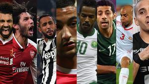 هذه القيمة السوقية لأبرز النجوم العرب المشاركين في كأس العالم 2018