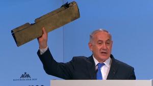 """نتنياهو: إيران تسعى إلى """"السيطرة على العالم"""""""