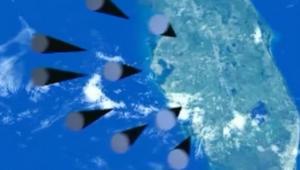 بوتين يستعرض القوة برسوم متحركة لصاروخ كروز فوق فلوريدا