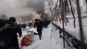 اشتباكات بين متظاهرين ورجال أمن في أوكرانيا