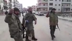 شاهد.. الجيش السوري الحر يدخل عفرين