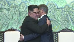 """الكوريتان تتعهدان بالعمل على """"إنهاء الحرب"""" في 2018"""