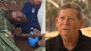 صياد استرالي يتحدث عن ضياعه بالصحراء ستة أيام دون طعام ونجاته بأكل النمل