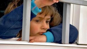 طفلة بمخيم الزعتري