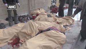 جثث الضحايا في حلب