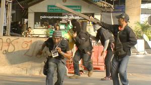 متظاهرون تايلنديون