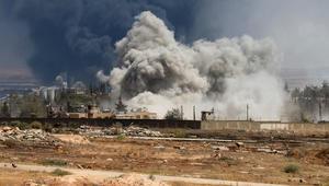المعارضة السورية تتقدم بريف حماة وتقترب من محردة ومعارك حول حلفايا