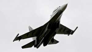 """طائرة مقاتلة من طراز """"سوخوي 30"""""""