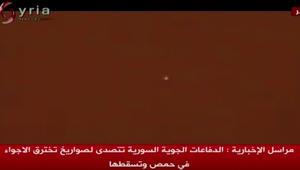 سوريا: إنذار خاطئ فعّل دفاعاتنا الجوية مساء أمس