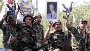أعلن الجيش السوري الخميس إطلاق عملية عسكرية واسعة النطاق ضد المناطق الخاضعة لسيطرة قوات المعارضة، مستندا إلى الغارات الجوية الروسية