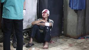 سوريا: الأسد يترك التحالف منشغلا مع داعش ويقصف المعارضة بالبراميل المتفجرة والصواريخ ويحاصر حلب