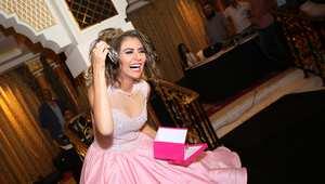 مريم حسين سعيدة جدا بالمفاجأة