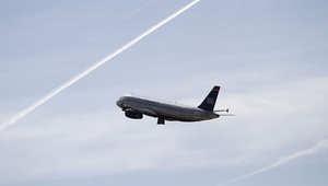"""صورة ارشيفية لطائرة """"يو اس أيرويز"""""""