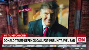 """البيت الأبيض: خطة ترامب لمنع المسلمين من دخول أمريكا تجعله """"غير مؤهل"""" للرئاسة"""