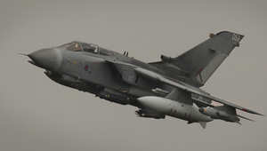 صورة من الارشيف لطائرة بريطانية مقاتلة من طراز تورنادو