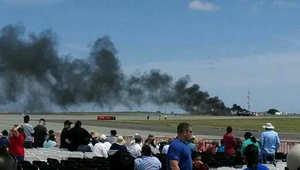 أمريكا: تحطم طائرة بقاعدة ترافيس الجوية بكاليفورنيا