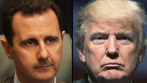 """بعد وصفه بـ""""الحيوان"""".. ترامب: الأسد """"جزار"""".. وعلاقتنا مع روسيا في أدنى مستوياتها على الإطلاق"""