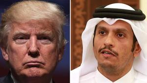 وزير خارجية قطر يرد لـCNN على تغريدة ترامب: جميعنا يحارب تمويل الإرهاب