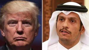وزير خارجية قطر: رأي ترامب مبني على آراء رؤساء يستخدمون الإرهاب ذريعة لأغراضهم السياسية