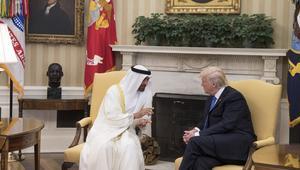 ترامب يستقبل محمد بن زايد في البيت الأبيض