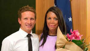 وفاء الأسترالي مايكل لحبيبته التي تشوّه جسدها
