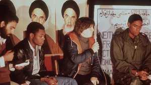 من عملية احتجاز الرهائن بعد اقتحام السفارة الأمريكية بطهران