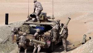 عناصر من الجيش الإماراتي خلال مناورة
