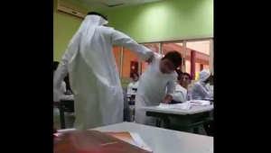 ضرب أستاذ لطالب يحدث ضجة بالإمارات.. وأحلام تنشر الفيديو وتتوعّد