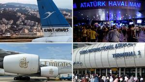بريطانيا تنضم إلى أمريكا بحظر إلكترونيات على متن طائرات من دول عربية.. تعرف على شركات الطيران المتأثرة
