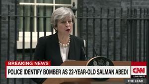"""مصادر لـCNN: منفذ هجوم مانشستر من أصول ليبية.. وبريطانيا ترفع مستوى التأهب إلى """"حرج"""" لأول مرة في عقد من الزمن"""