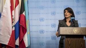 """السفيرة الأمريكية بالأمم المتحدة تحيي """"شجاعة الشعب الإيراني"""""""
