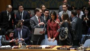 فيتو روسي ضد مشروع القرار الأمريكي لتحقيق مستقل بشأن استخدام الأسلحة الكيماوية في سوريا